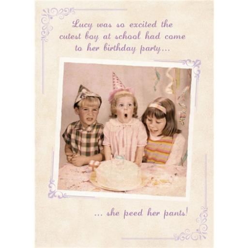 What A Hoot Card - Birthday Cake