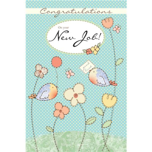 Congratulations Card - New Job