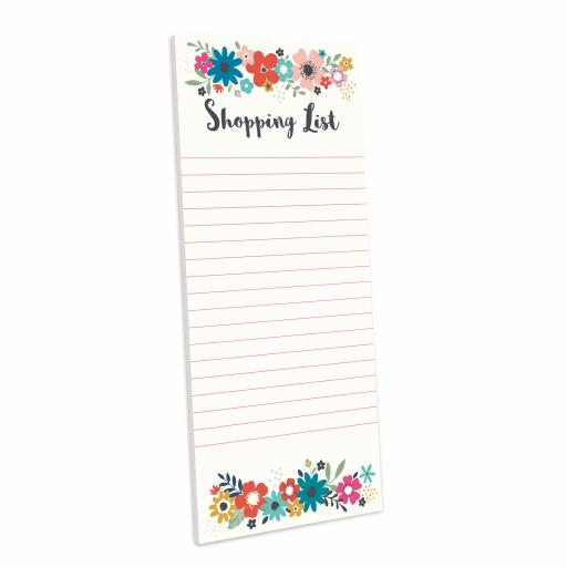 Bohemia Stationery - Magnetic Memo Pad - Little Flowers
