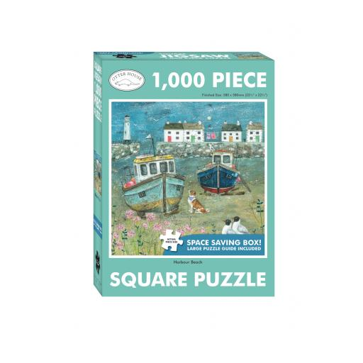 Square Jigsaw - Harbour Beach