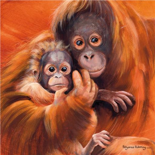 Pollyanna Pickering Collection - Orangutan & Baby
