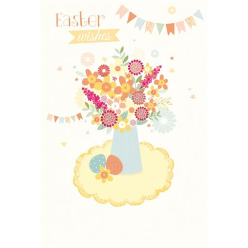 Easter Card Pack (Mini) - Vase & Bunting