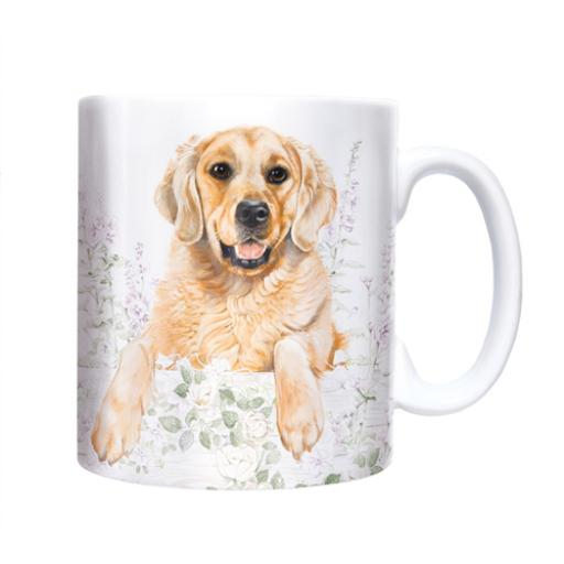 Straight Sided Mug - Golden Retriever