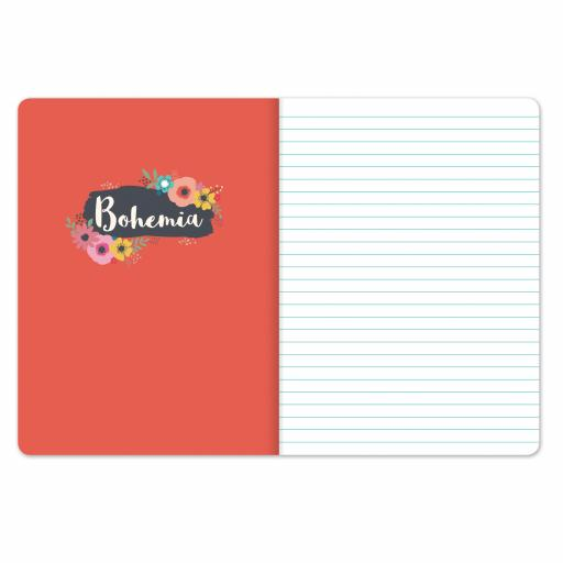 Bohemia Stationery - Plastic Cover Notebook - Birds