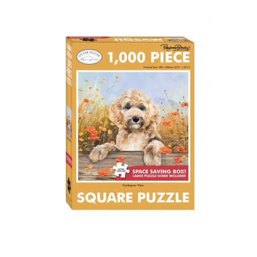 Square Jigsaw - Cockerpoo View
