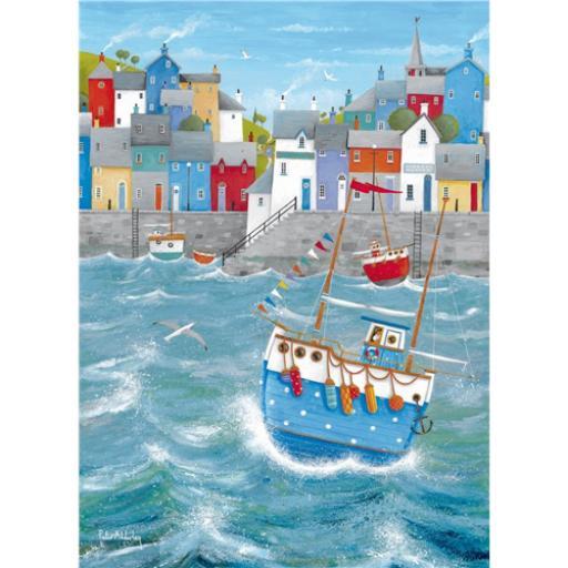 Peter Adderley Card - Quayside