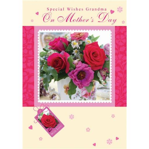 Mother's Day Card - Red Roses