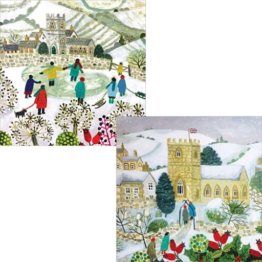 Help For Heroes Christmas Card Pack (Luxury) - Christmas Eve