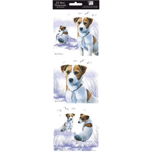 Hanging Notecard Pack - Jack Russell's