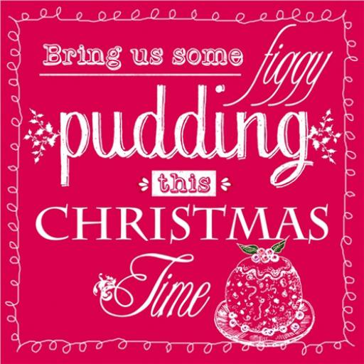 Charity Christmas Card Pack - Figgy Pudding