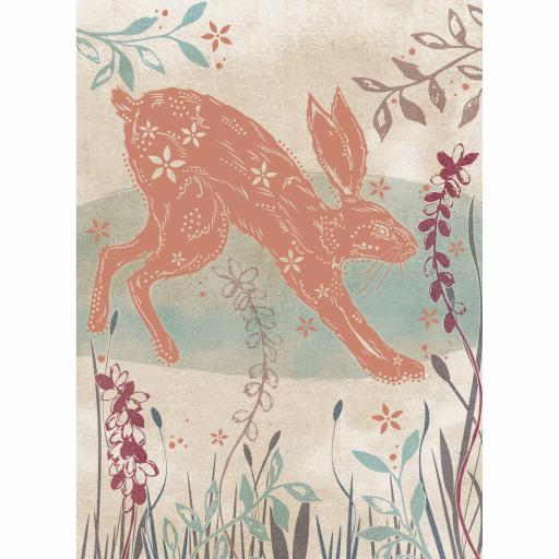 RSPB Card - Wild Garden - The Happy Hare