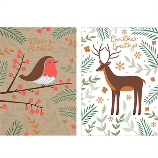 Help For Heroes Christmas Card Pack (Medium) - Winter Wonderland