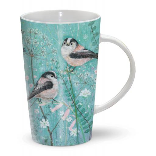 Latte Mug - Long-Tailed Tits