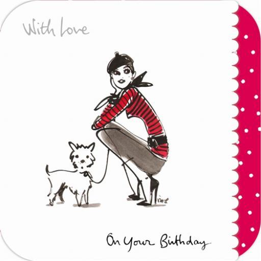Izak Card - Puppy Love