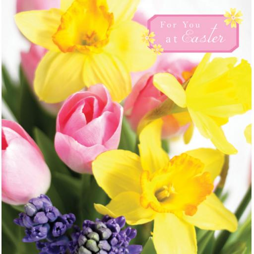 Easter Card Pack - Tulips & Hyacinth