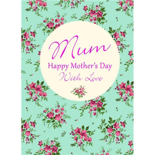 Mother's Day Card - Floral Spring