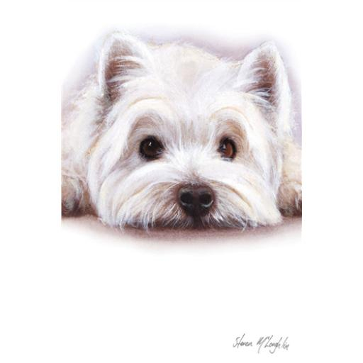 Dinkies Mini Card - Cute Westie