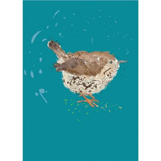 RSPB - Notecard Set (Wren)