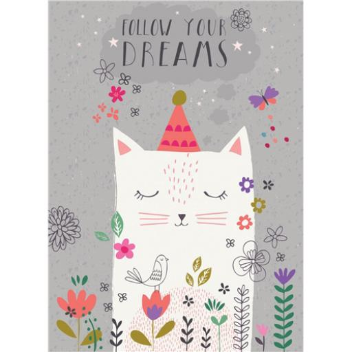 Marie Curie Card (Range 2) - Dream Cat