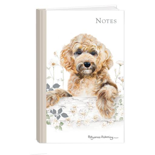 Pollyanna Pickering Stationery - Hardcover Notebook (A6 - Cockapoo)