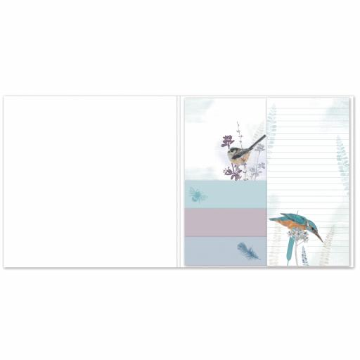 RSPB - Sticky Notes Selection (Kingfisher)