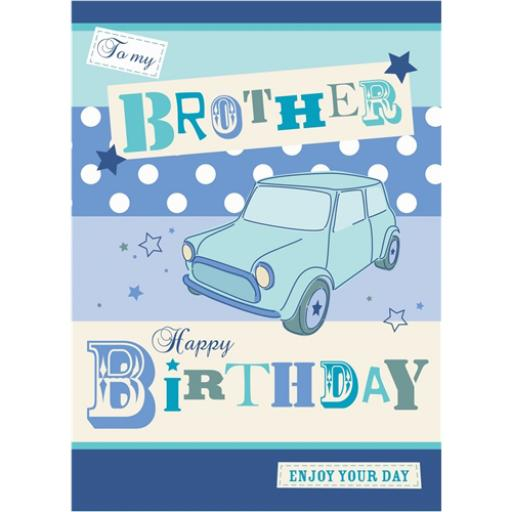 Family Circle Card - Brother