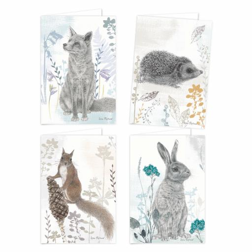 RSPB - A6 Notecard Pack (Hare)
