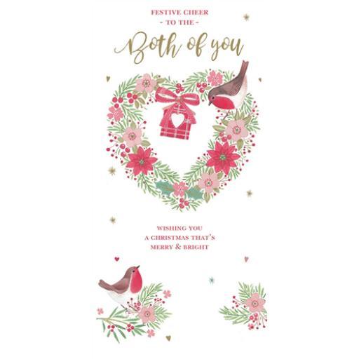 Christmas Card (Single) - Both Of You - Robins