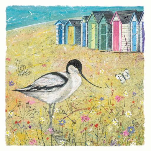 Seaside Charm Card - Summer Avocet
