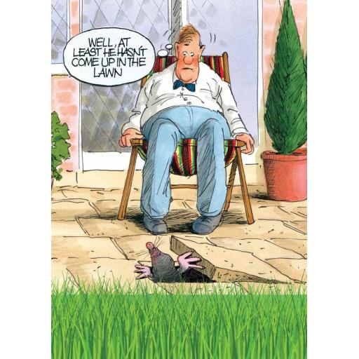 Gardeners Weakly Card - The Lawn