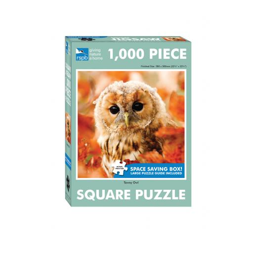 Square Jigsaw - RSPB Tawny Owl