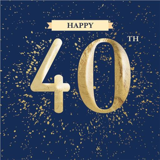 Age To Celebrate Card - 40
