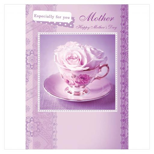 Mother's Day Card - Teacup