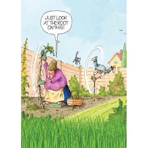 Gardeners Weakly Card - Root