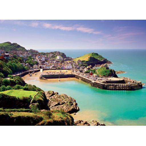 Perfectly Picturesque Card - Ilfracombe Harbour