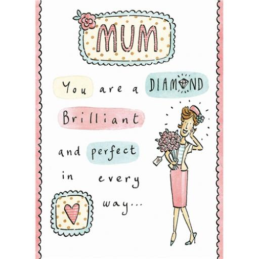 Mother's Day Card - Diamond