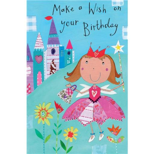 Sugar & Mice Card - Princess