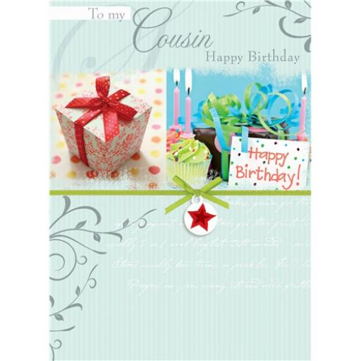 Family Circle Card - Cousin Female