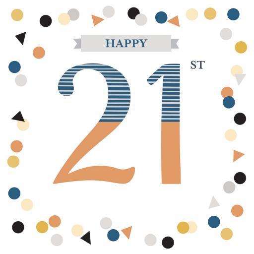 Age To Celebrate Card - 21
