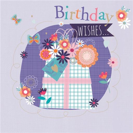 Poppy Davis Card - Lavender Present