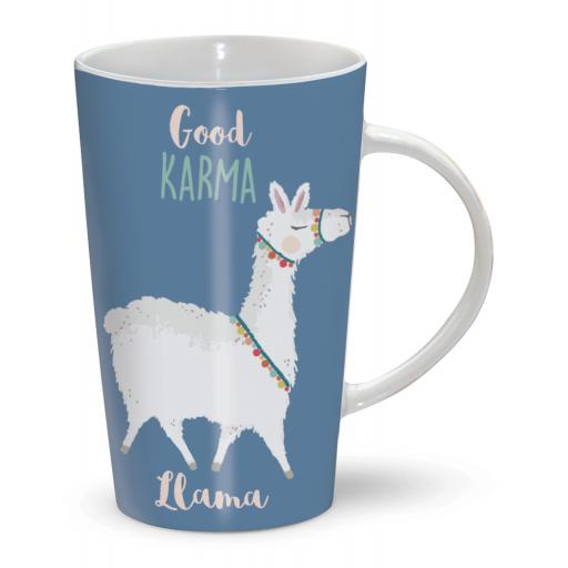 Latte Mug - Good Karma
