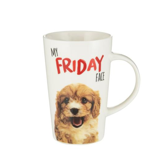 Latte Mug - Friday Face