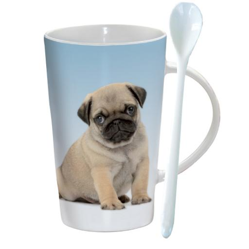 Chocolatte Mugs - Little Pug
