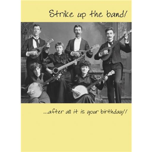 What A Hoot Card - Strike Up The Band