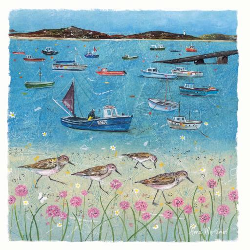 Seaside Charm Card - The Moorings