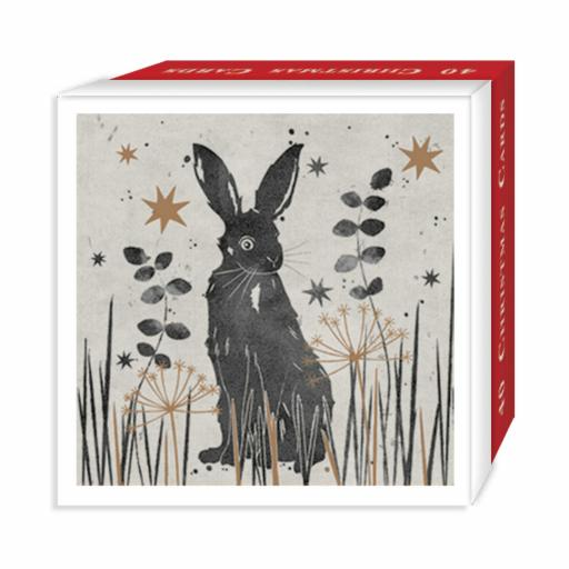 Assorted Christmas Cards - Winter Whiskers