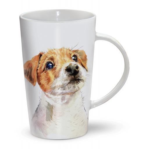 Latte Mug - Jack Russell