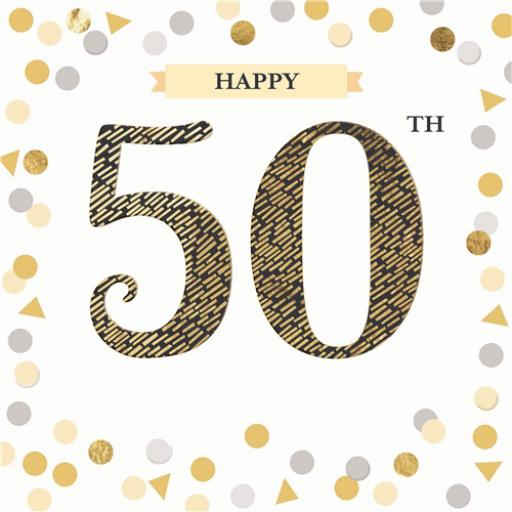 Age To Celebrate Card - 50