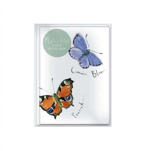 Madeleine Floyd Stationery - Notecard Pack (Butterflies)