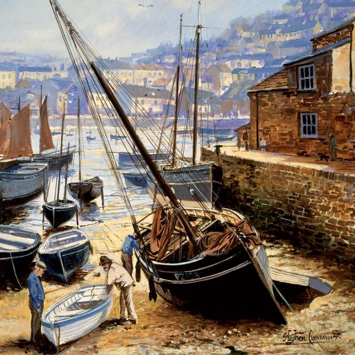 Quayside Gallery Card Collection - Boatyard